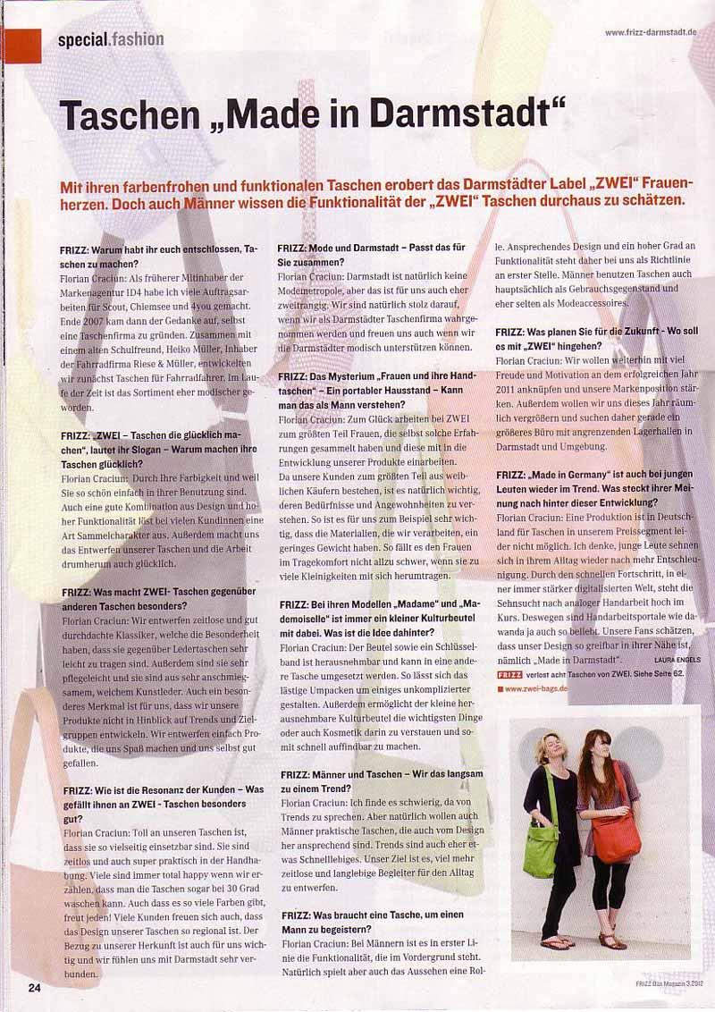 Magazin: Frizz 2012